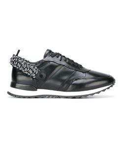 OAMC | Elasticated Rear Strap Sneakers 8 Calf Leather/Leather/Rubber/Polyester