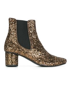 Stine Goya | Anita Glitter Boots 40 Leather/Pvc/Rubber