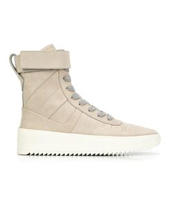 FEAR OF GOD | Velcro Strap Hi-Tops 12 Leather/Rubber