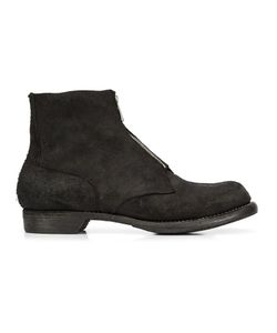 GUIDI | Front Zip Ankle Boots 42 Leather