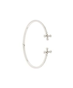 ELISE DRAY | Diamond Twin Cross Bracelet
