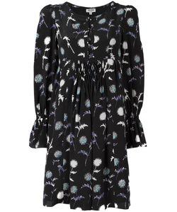 Kenzo | Dandelion Print Dress 40 Polyester/Silk