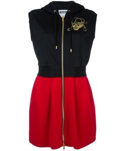 Moschino | Sleeveless Hooded Dress 40 Triacetate/Polyester
