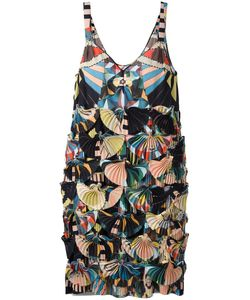 Givenchy | Crazy Cleopatra Printed Technical Georgette Dress 38 Silk