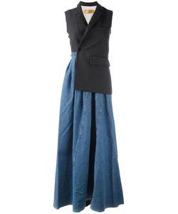 Golden Goose | Deluxe Brand Christine Dress Medium Wool/Cotton/Viscose