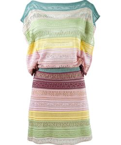 CECILIA PRADO | Striped Knit Dress Medium Acrylic/Viscose