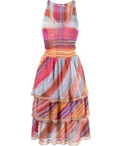 CECILIA PRADO | Flared Knit Dress Medium Viscose/Acrylic/Polyester