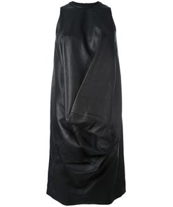 Rick Owens | La Brea Dress 38 Leather/Cotton