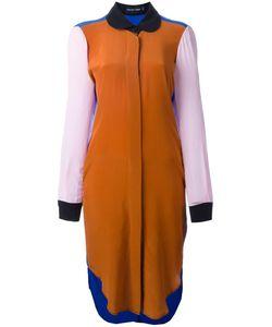 Penelophe'S Sphere | Colour Block Shirt Dress Medium Silk