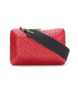 SERPUI | Straw Clutch Bag
