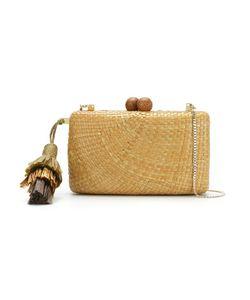 SERPUI   Straw Clutch Bag