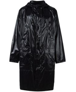 MSGM | Logo Print Raincoat 46 Polyamide