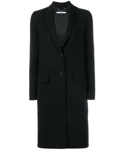 Givenchy | Button Front Coat 40 Wool/Polyamide/Spandex/Elastane/Spandex/Elastane