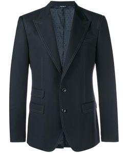 Dolce & Gabbana | Dotted Trim Blazer 50 Wool/Viscose