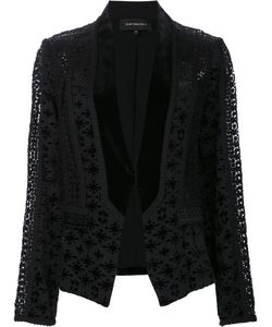 Kobi Halperin | Embroidered Blazer Small Rayon/Silk