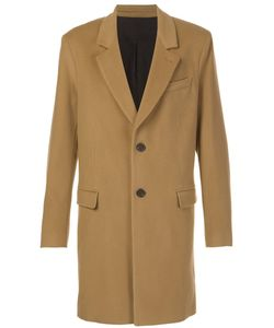 Ami Alexandre Mattiussi | Classic Two-Button Coat 54 Wool/Cashmere/Acetate/Cotton