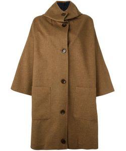 DUSAN | Hooded Oversized Coat Cashmere