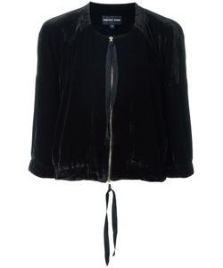 Penelophe'S Sphere | Zipped Velvet Jacket Small Silk/Viscose