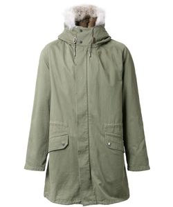YVES SALOMON HOMME | Lined Parka 50 Cotton/Acrylic/Coyote Fur