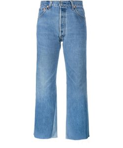 Re/Done | Leandra Jeans 29 Cotton/Leather