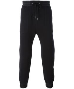 Helmut Lang | Combo Track Pants Small Cotton/Nylon/Viscose/Polyamide