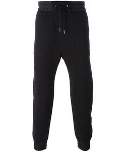 Helmut Lang | Combo Track Pants Small Cotton/Nylon/Viscose/Polyamide