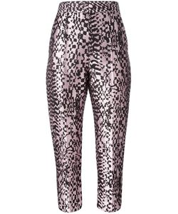 Haider Ackermann | Madeline Cropped Trousers 36 Silk/Cotton/Polyester