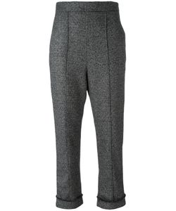Neil Barrett | Cropped Trousers 40 Cotton/Spandex/Elastane/Virgin Wool
