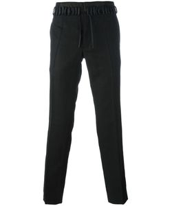 Haider Ackermann | Slim-Fit Trousers 52 Cotton/Linen/Flax/Mohair/Leather