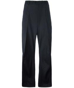 Penelophe'S Sphere | Striped Wide Leg Trousers Small Silk/Wool