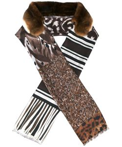 PIERRE-LOUIS MASCIA | Fancy Scarf Silk/Orilag Fur