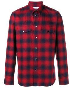 Givenchy   Casual Plaid Shirt 42 Cotton
