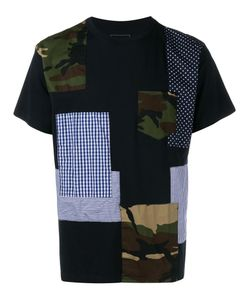 Sophnet. | Patchwork T-Shirt 2 Cotton