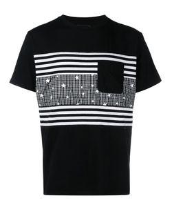 UNIFORM EXPERIMENT | Patchwork T-Shirt 3 Cotton