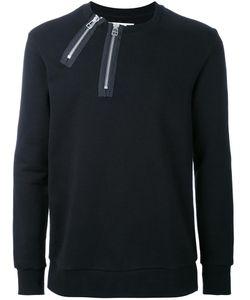 MATTHEW MILLER | Crew Neck Sweatshirt Large Cotton