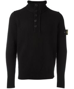 Stone Island | Half-Button Sweater Xl Polyamide/Wool