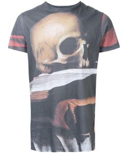 MATTHEW MILLER   Marshall Skull T-Shirt Large Cotton