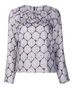 Suno | Detail Blouse 2 Polyester/Silk/Spandex/Elastane