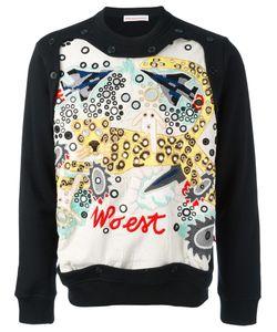 WALTER VAN BEIRENDONCK VINTAGE | Walter Van Beirendonck Multiple Embroidery Sweatshirt Xl Cotton