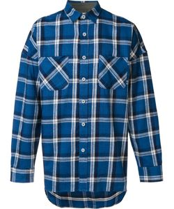 FEAR OF GOD | Chest Pockets Plaid Shirt Large