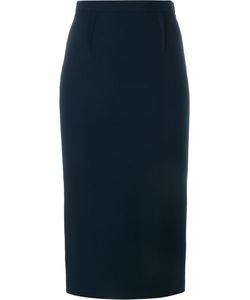 Roland Mouret | Arreton Pencil Skirt 10 Viscose/Acetate/Spandex/Elastane