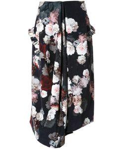 Preen By Thornton Bregazzi   Flower Print Skirt Medium