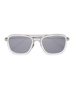Linda Farrow | Square Frame Sunglasses Adult Unisex Plated Titanium