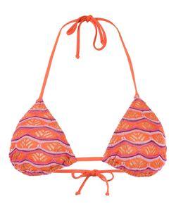 CECILIA PRADO | Triangle Knit Bikini Top P Viscose/Acrylic