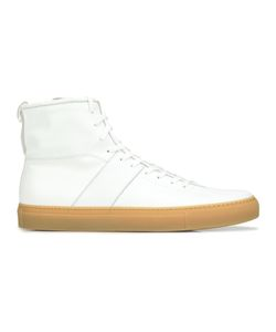 Daniel Patrick | Lace-Up Hi-Top Sneakers 45 Leather/Rubber