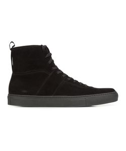 Daniel Patrick | Lace-Up Hi-Top Sneakers 46 Suede/Rubber