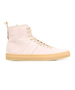 Daniel Patrick | Lace-Up Hi-Top Sneakers 43 Suede/Rubber