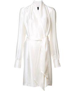 Gareth Pugh | Silk Wrap Dress 40 Silk