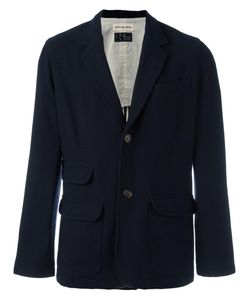 UNIVERSAL WORKS | Two Button Blazer Large Polyester/Cotton/Wool/Acrylic