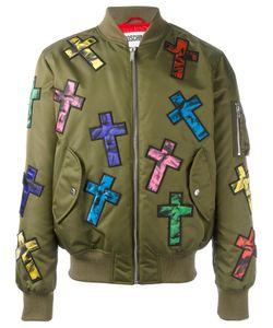 Moschino | Cross Patch Bomber 52 Polyamide/Polyurethane/Polyester